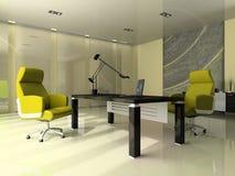 内部现代办公室 库存照片