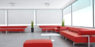 内部现代空间 免版税图库摄影