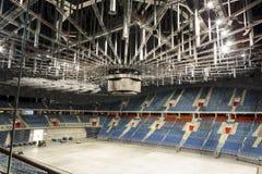 内部现代 Tauron竞技场克拉科夫 库存照片