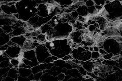 内部的抽象自然大理石黑白被仿造的纹理背景贴墙纸设计 免版税库存图片