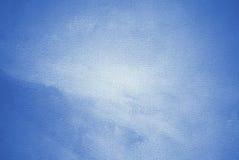 内部的抽象绘画在蓝色口气 库存例证