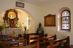 内部的教会一点 免版税图库摄影