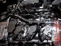 内部的燃烧引擎 库存图片