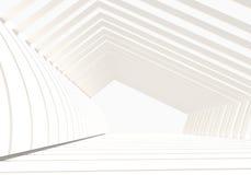 内部空的结构 免版税库存图片