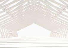 内部空的结构 免版税库存照片