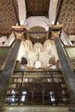 内部苏丹Qalawun,老开罗,埃及陵墓  免版税图库摄影