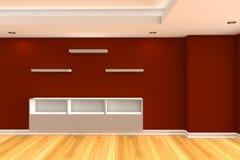内部装饰业客厅 免版税库存照片