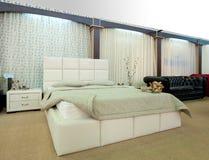 内部装饰业立场和家庭结构 图库摄影