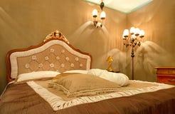 内部装饰业立场和家庭结构 免版税库存图片