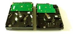 内部计算机的3硬盘 向量例证 免版税图库摄影