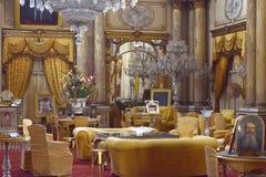 内部豪华宫殿 库存图片