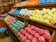 内部豪华的肥皂商店在罗马 免版税图库摄影