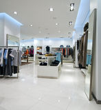 内部购物中心购物 免版税库存照片