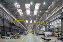 内部金属制造业 免版税库存照片