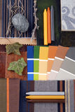 内部颜色和谐 免版税库存照片