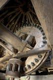 内部风车 库存图片