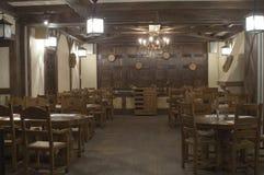 内部餐馆 库存照片