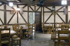 内部餐馆 库存图片