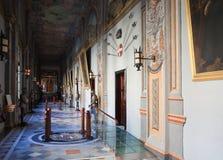 内部骑士宫殿s 库存照片