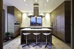 内部,厨房 免版税图库摄影