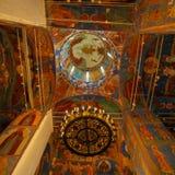 内部,变貌救主,修道院大教堂  库存照片