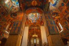 内部,变貌救主,修道院大教堂  库存图片