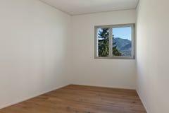 内部,有镶花地板的室 免版税库存图片