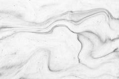 内部des的抽象波动图式白色大理石纹理墙壁 库存照片