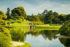冈山庭院 库存图片