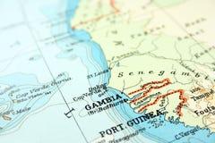 冈比亚 免版税图库摄影