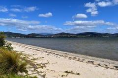 冈羊木西海湾,塔斯马尼亚岛 免版税库存图片