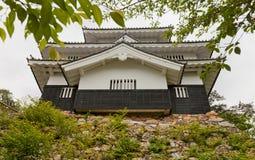 冈崎城堡,爱知县,日本城堡的主楼  免版税库存图片