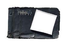 册页古色古香的照片 免版税库存图片