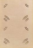 册页古色古香的页照片 免版税图库摄影