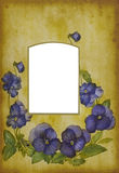 册页古色古香的页照片 库存图片