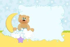册页婴孩照片s模板 免版税库存图片