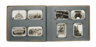 册页巴黎 免版税图库摄影