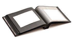 册页开放照片 免版税库存图片