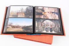 册页查出的照片 免版税库存图片