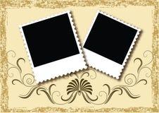册页格式页照片 库存照片