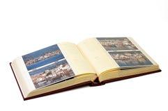 册页照片 库存图片