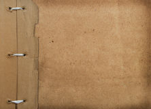 册页盖子grunge照片 免版税库存图片