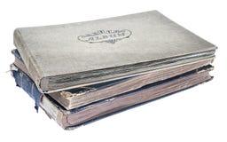 册页老照片堆 免版税图库摄影