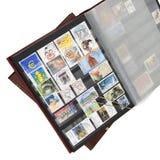 册页邮票 库存图片