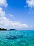 再安达曼海的透明的大海 库存图片