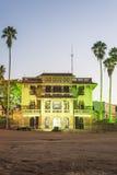 冒号市政厅,石头三姊妹,阿根廷。 库存图片