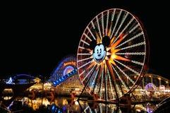 冒险加利福尼亚迪斯尼乐园 免版税库存图片