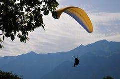 冒险和消遣体育的瑞士天堂 免版税库存图片