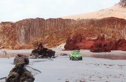 冒险在美好的地方- Canoa Quebrada -塞阿拉州-巴西 免版税库存照片