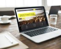 冒险探险目的地旅行旅行癖概念 免版税库存图片
